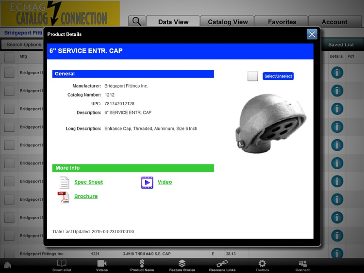 ECMAG CATALOG CONNECTION App screenshot-1
