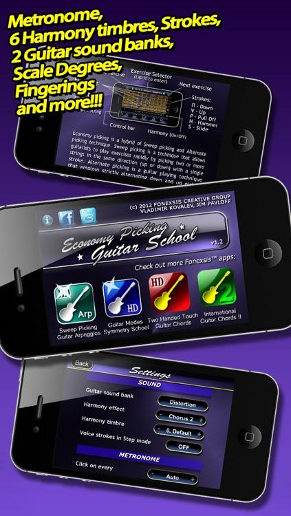 Economy Picking Guitar School FREE screenshot-3