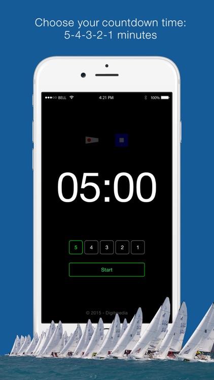 Regatta Timer Watch screenshot-3