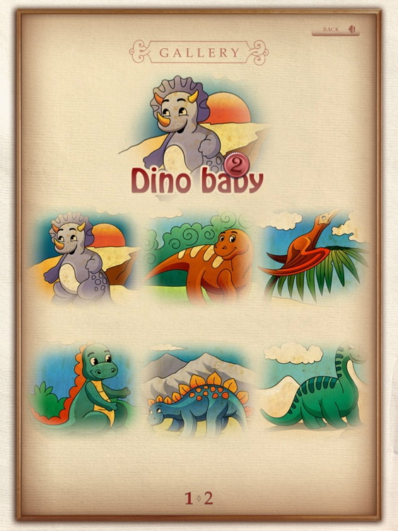 Coloring book. Dino baby. Lite screenshot-3