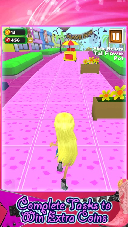 3D Fashion Girl Mall Runner Race Game by Awesome Girly Games FREE screenshot-3