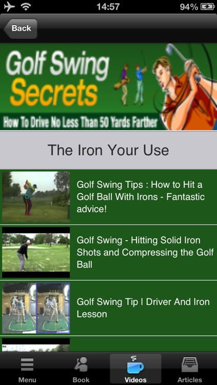 Golf Swing Secrets:How to Drive no Less Than 50 yards Farther screenshot-3