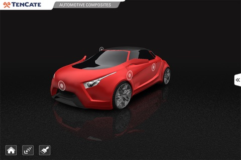 TenCate Advanced Composites - 3D car explorer screenshot 1
