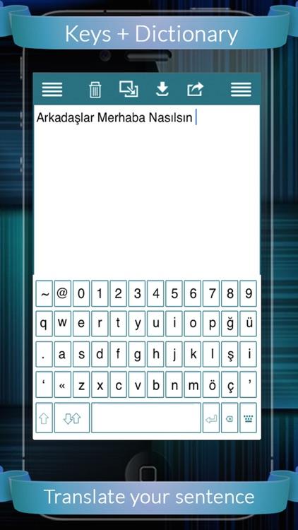 Turkish Eng Dic + Keys (English to Turkish & Turkish to English) screenshot-4