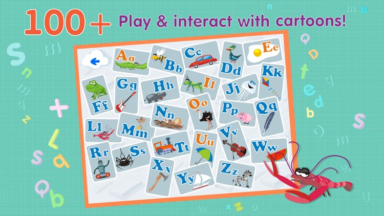 ABCs alphabet phonics based on Montessori approach for toddler Lite
