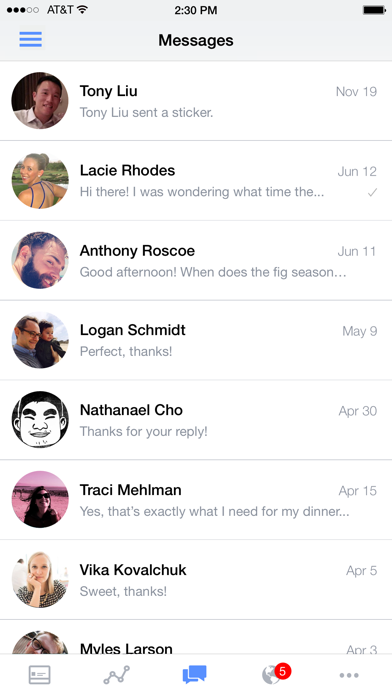 Facebookページマネージャ screenshot1