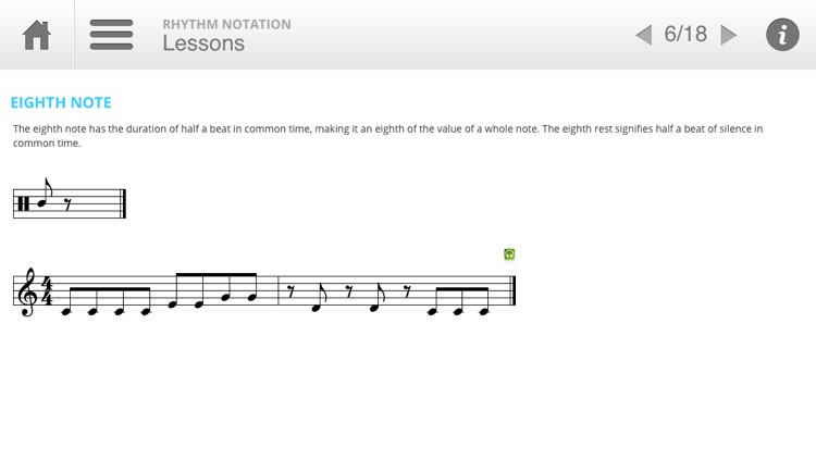 Musition Rhythm Notation screenshot-2