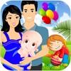 私の ママ 新生児 赤ちゃんの 出産 & 妊娠 テスト 少女 介護 子供たち ゲーム