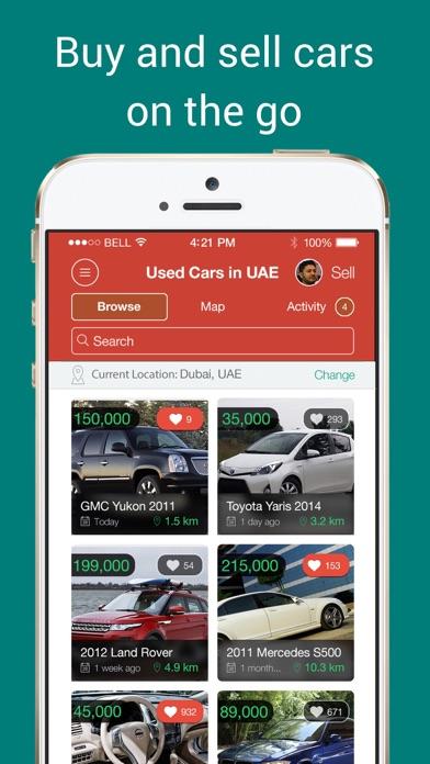 Used cars in UAE by Melltoo :: سيارات للبيع الإمارات screenshot one