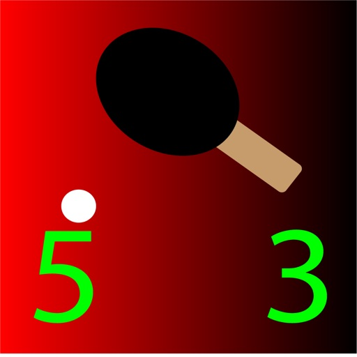 Ping Pong/Table Tennis Serve and Score Keeper