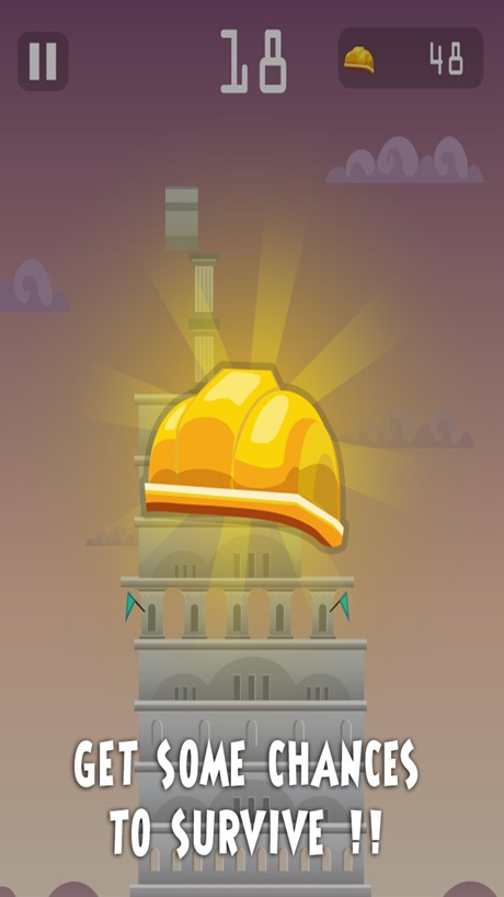 Build the Tower – balance to construct a straight building