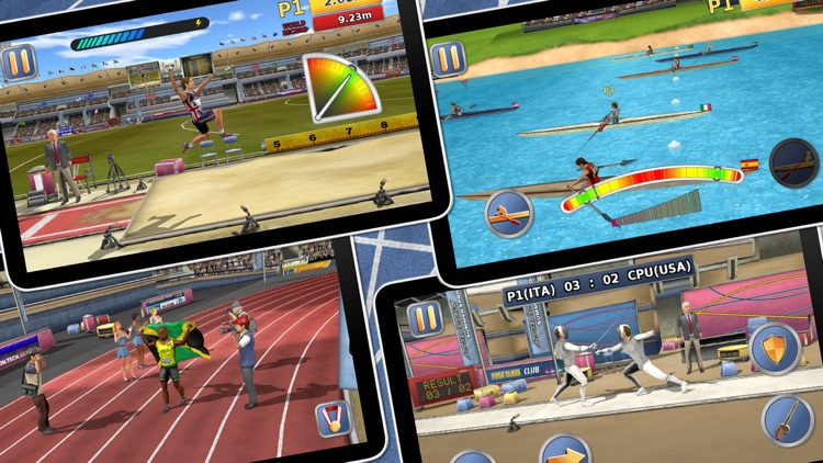 Athletics 2: Summer Sports - Free screenshot-4