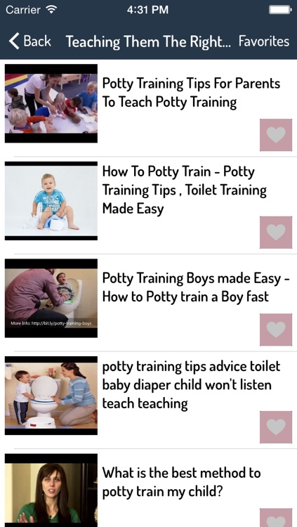Potty Training Guide For Kids screenshot-1