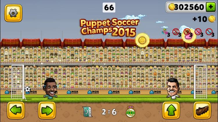 Puppet Soccer Champion 2015 screenshot-4