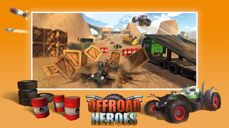 An Offroad Heroes Free Action Destruction Rally Racing 3d By Pocket Scientists