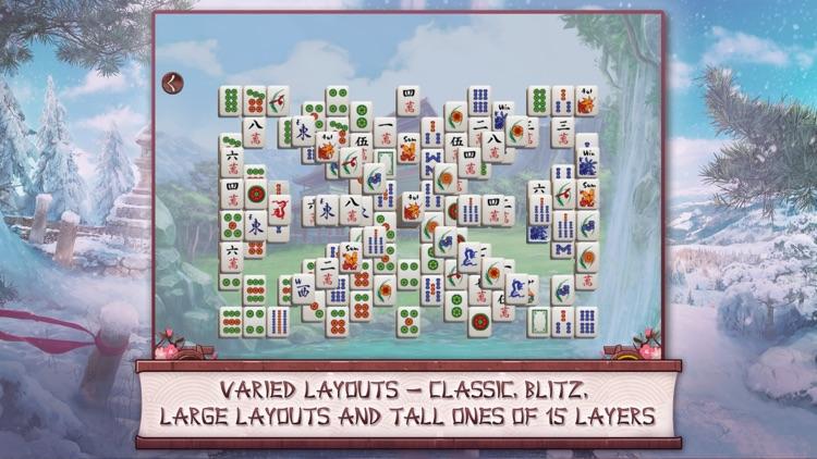 Sakura Day Mahjong Free screenshot-4
