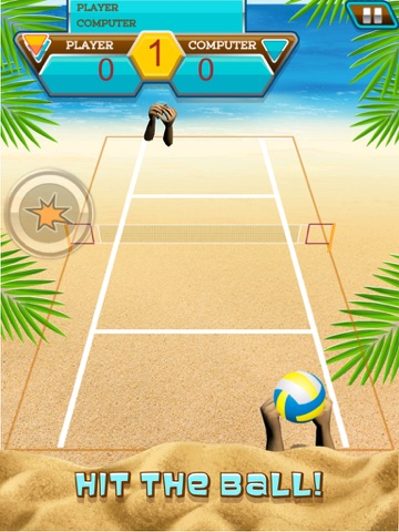 A Volleyball Beach Battle Summer Sport Game-ipad-1