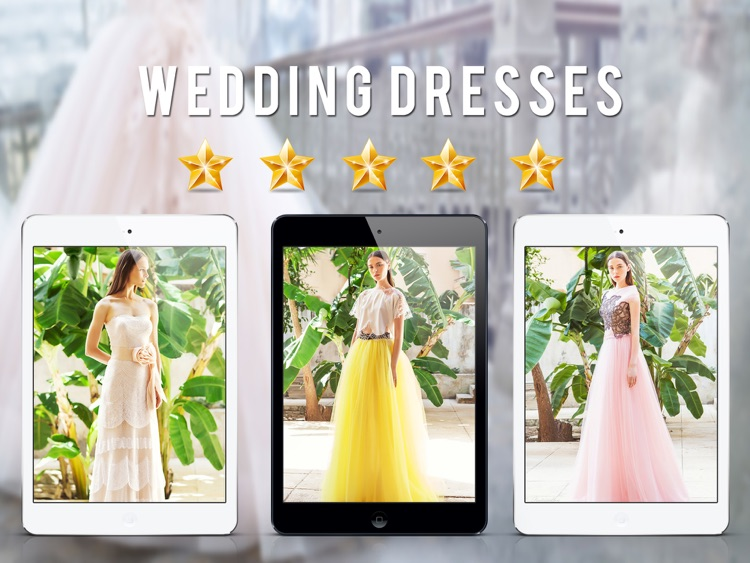 Wedding Dress Design Ideas for iPad