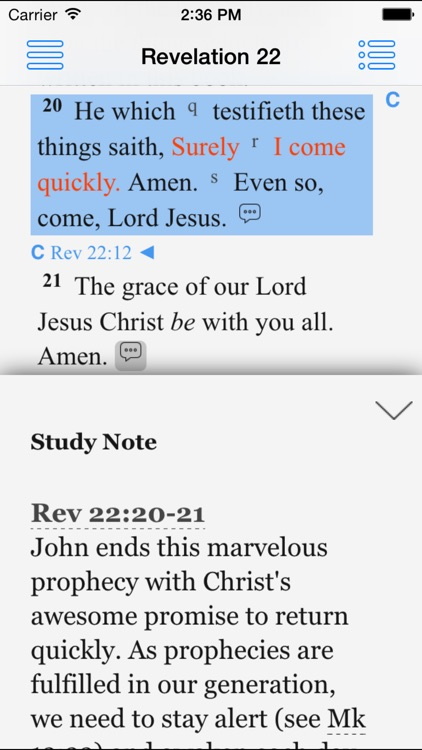 Jeffrey Prophecy Study Bible screenshot-2
