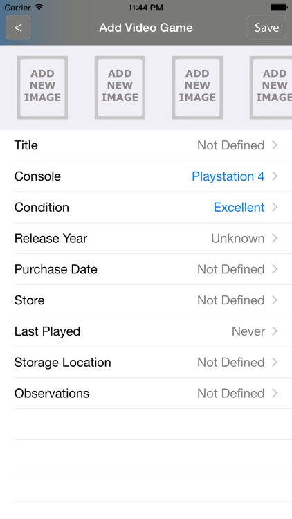 Video Games Collector screenshot-4