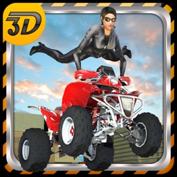 Quad Bike Race Stunt 3D - A crazy stunt bike simulator