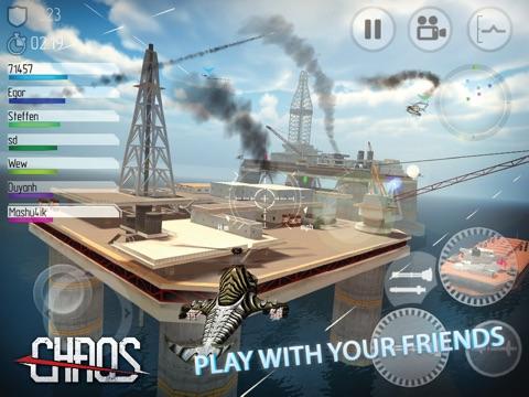 CHAOS боевые вертолеты -‐ #1 Многопользовательский симулятор вертолетов 3D для iPad