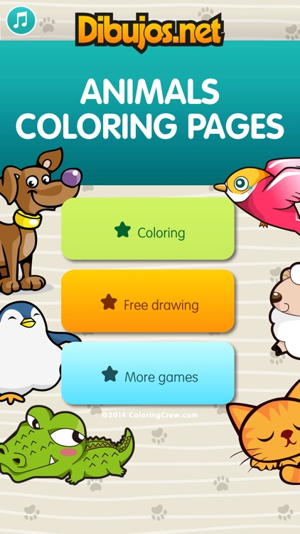 Animals Coloring Pages for kids screenshot-3
