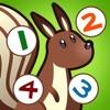アクティブ! 森の動植物についての子どもたちのためのゲームを数えるのは数えることを学ぶ - iPhoneアプリ