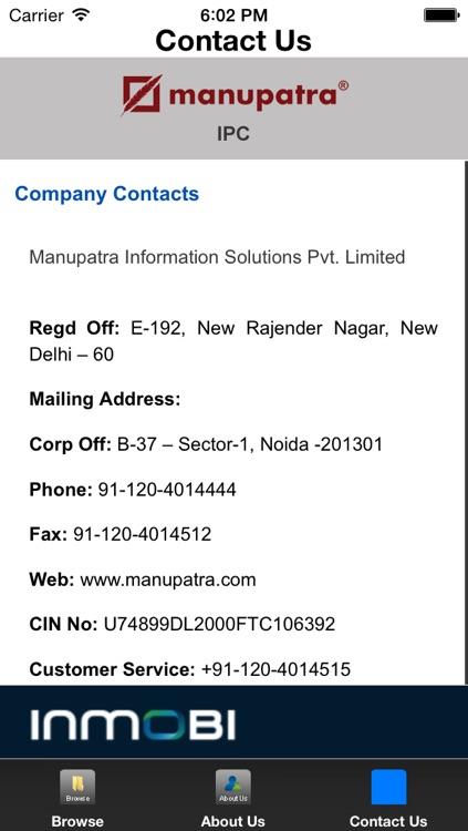 Manupatra - Indian Penal Code screenshot-3