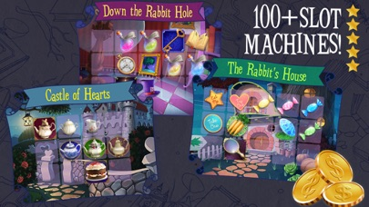 Mad Hatter Party Slots Screenshot