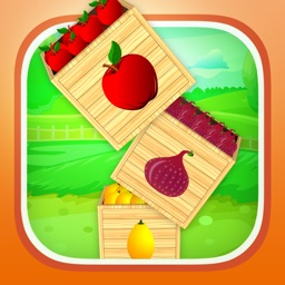 A Happy Farm Fruit Garden FREE - Little Farmer Drop Game for Kids
