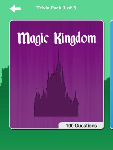 Theme Park Trivia: Walt Disney World Edition screenshot