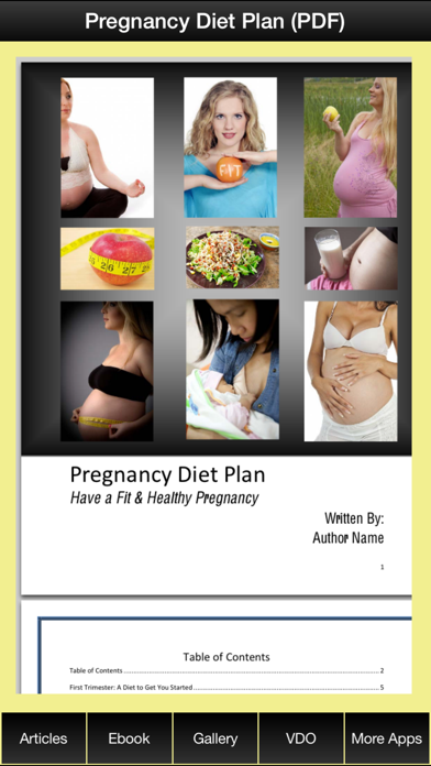 Pregnancy Diet Plan - Have a Fit & Healthy Pregnancy !のおすすめ画像2