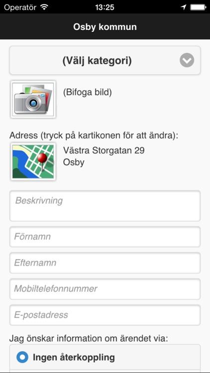 Felanmlan Osby kommun - Mga App sa Google Play