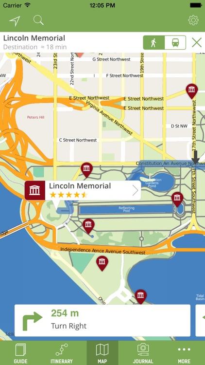 Washington DC Travel Guide (Offline Maps) - mTrip