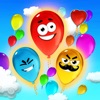 Sneaky Balloons : The big pop confetti party - Tap balloon free game for kids, boys and girls - Unexpected ninja adventure in Sky Tower - Cool winter edition for toddlers