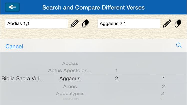 Biblia Sacra Vulgata - The Bible in Latin screenshot-3