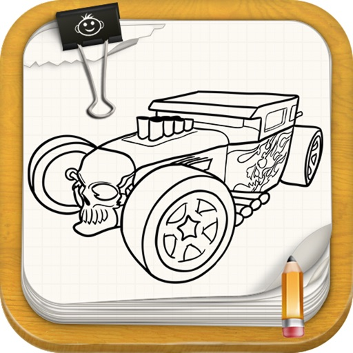 Learn To Draw Hot Wheels