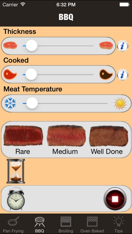perfect steak timer: bbq, grill, fry and broiling screenshot-4