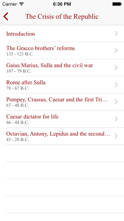 Roman Empire History screenshot-1