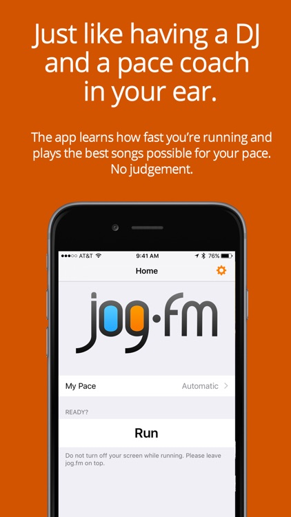 jog.fm - Running music at your pace