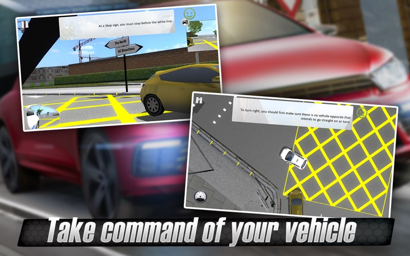 Screenshot #3 for 3D Driving Simulator - Master your vehicle
