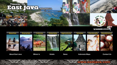 Travel to East Java Indonesia iPhone