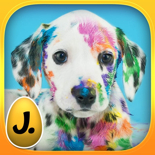 Happy Easter: Funny Animals - puzzle game for little girls, little boys and preschool kids
