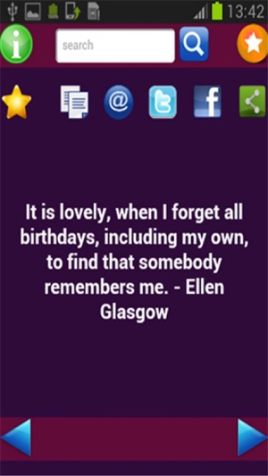 Birthday Quotes On The App Store