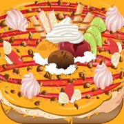 Ice Cream Pizza cooking games