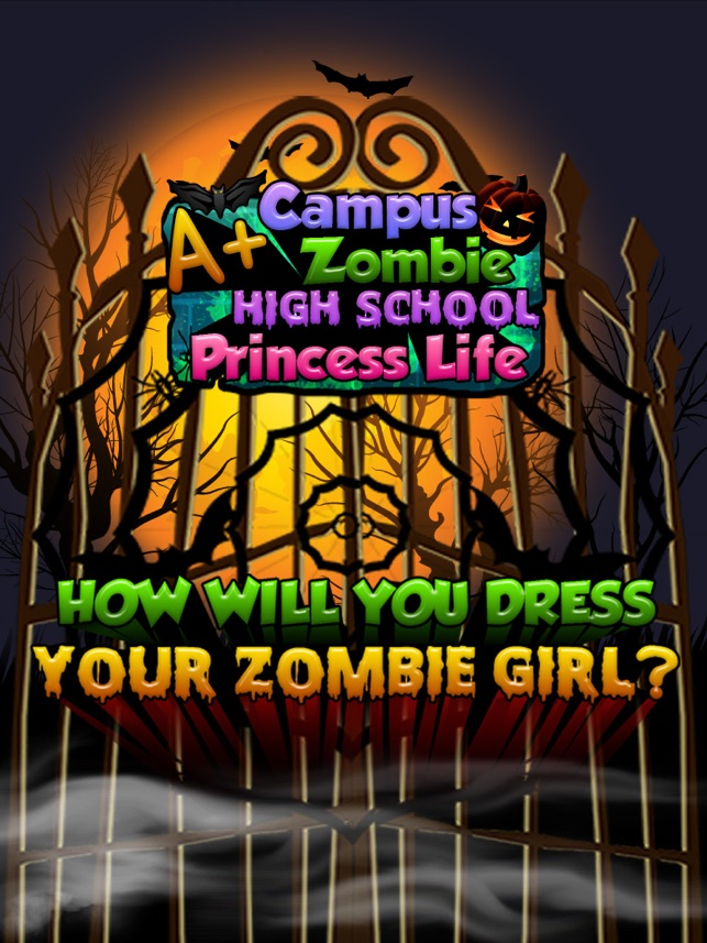 A+ Campus Zombie Makeover High School Princess Spa Life - Free Salon Games for Girls