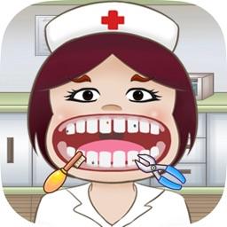 Little Nurse - Crazy Dentist Office