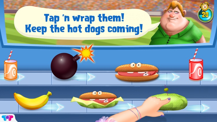 Hot Dog Truck : Lunch Time Rush! Cook, Serve, Eat & Play screenshot-4