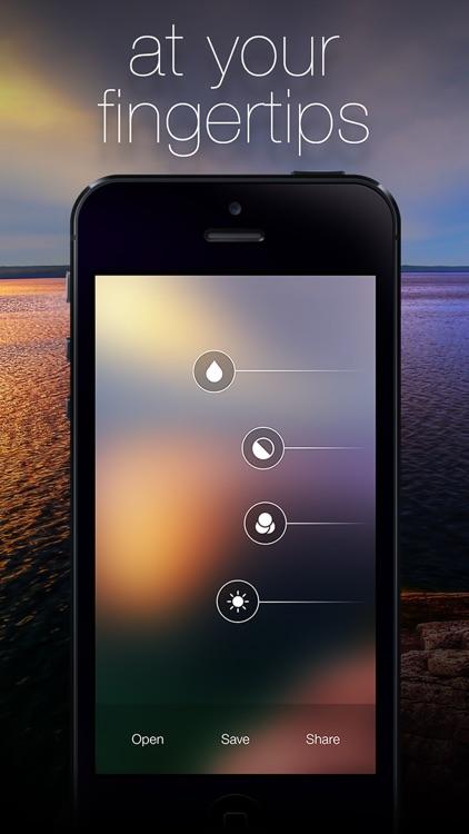 Blurify - Create custom blurred iOS 7 style background wallpapers screenshot-3
